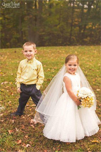 5-Jährige mit halbem Herzen 'heiratet' besten Freund vor OP.