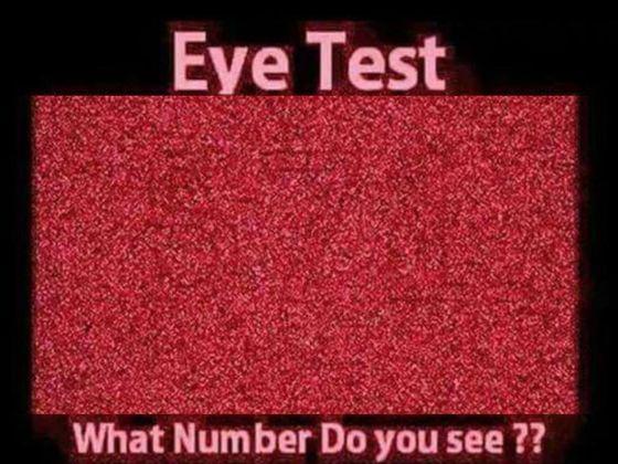 Kannst Du wirklich so gut sehen wie Du denkst?