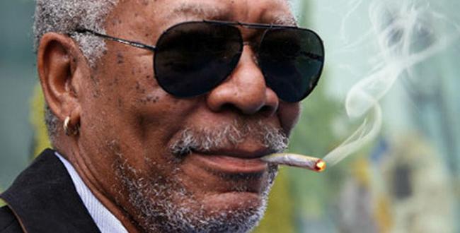Morgan Freeman verteidigt seinen Cannabiskonsum mit einer epischen Antwort