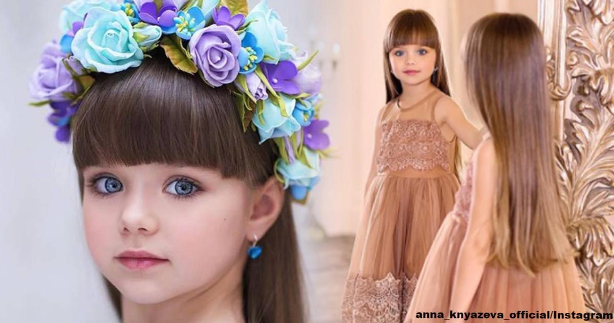 Treffen Sie sich: das schönste Mädchen der Welt. Sie kommt aus Russland!