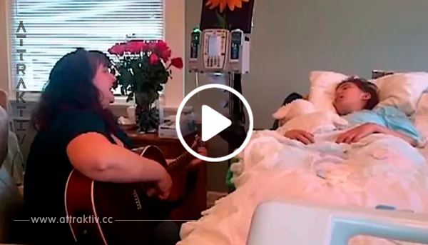 Während seine Tochter stirbt, filmt dieser Vater etwas unglaublich Schönes mit seinem Handy. Wow!