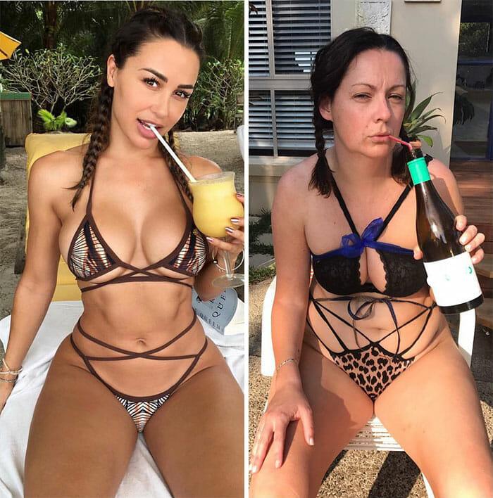 Keine Model-Maße: Weil sie Promi-Fotos nachstellt, wird diese Mutter auf der ganzen Welt gefeiert