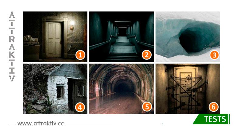 Die Genauigkeit des Tests beträgt 97%! Schau dir die Bilder an und wähle den schrecklichsten Eingang.