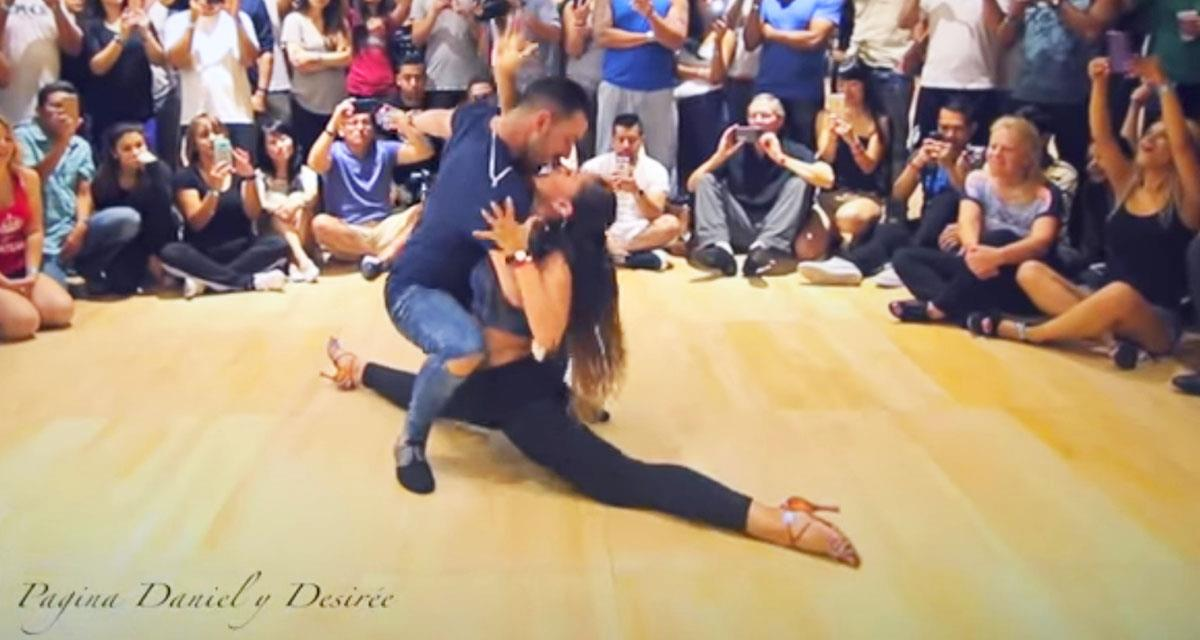 Sie ist so talentvoll, sie tanzt so schön, dass man nur einfach auf sie schauen möchte