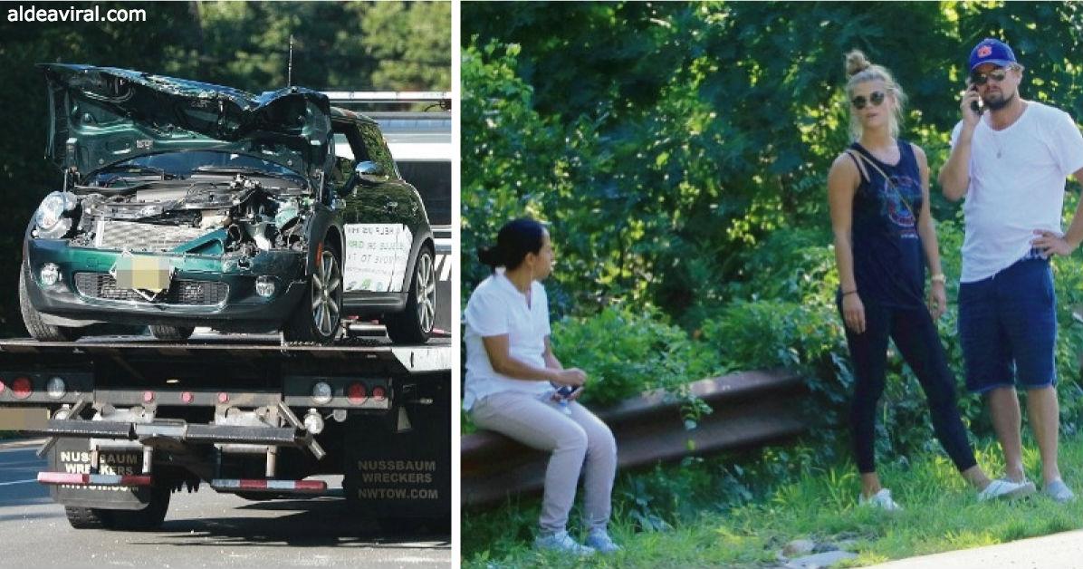 Das hat DiCaprio gemacht, als der Einwanderer sein Auto kaputt gemacht hat!