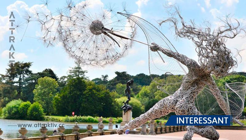 24 Skulpturen, die den Gesetzen der Physik überwunden haben