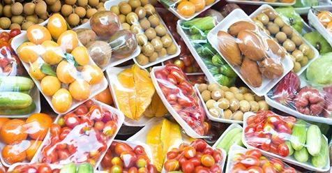 Kein Gemüse mehr in Plastik eingepackt? EU Parlament berät über Verbot von Plastik Verpackungen.