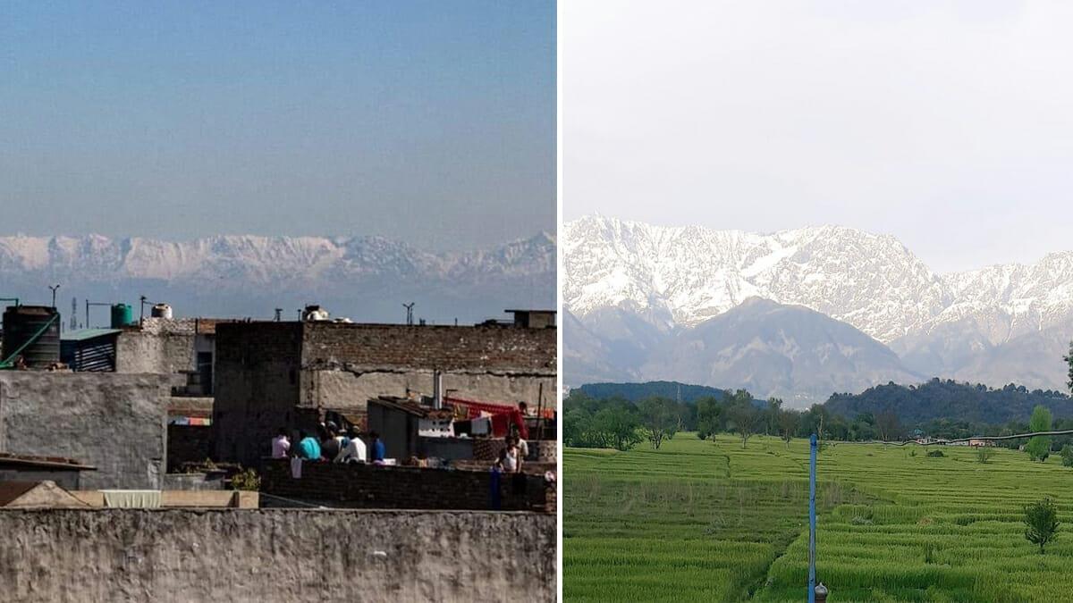 Himalaya nach 30 Jahren wieder sichtbar: Luftverschmutzung in Indien geht seit Corona zurück