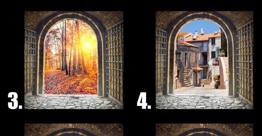 Durch welche Tür möchtest du gehen? Das verrät es über deine Persönlichkeit