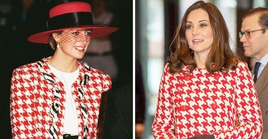 9 Anlässe, bei denen Kate Middleton wie Prinzessin Diana gekleidet war
