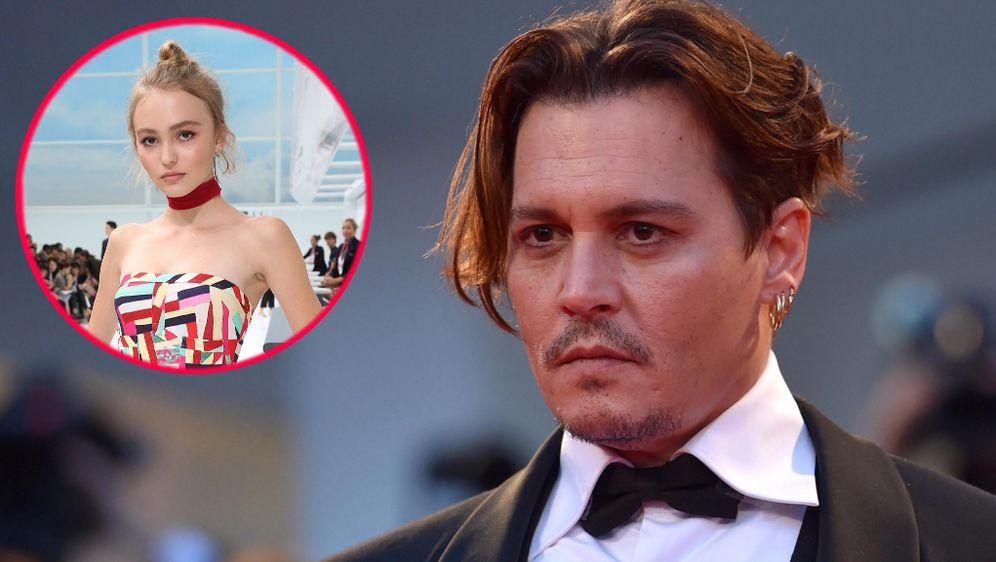 Johnny Depp: Das ist seine Tochter Lily-Rose Depp, 21, die mit 17 die Schule abbrach und gegen Magersucht kämpfte