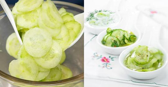 Gurkensalat - die besten Rezepte und Tipps
