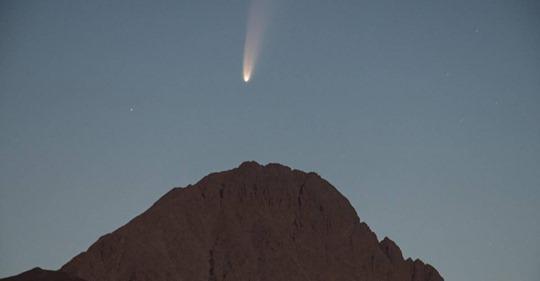 Besucher aus den Tiefen des Alls: Komet 'Neowise' ist jetzt mit bloßem Auge zu sehen
