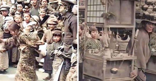 'Zeitreise'-Videos: Wie Tokio vor mehr als 100 Jahren aussah