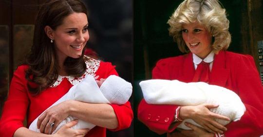 Bewegende Hommage: Zur Geburt von Prinz Louis erinnerte sie an Prinzessin Diana (†36)