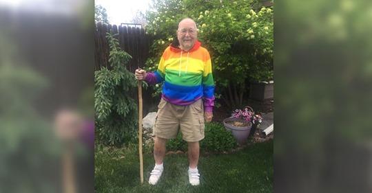 Ich habe es mein Leben lang bereut  Mann outet sich mit 90 Jahren und sucht seine Jugendliebe