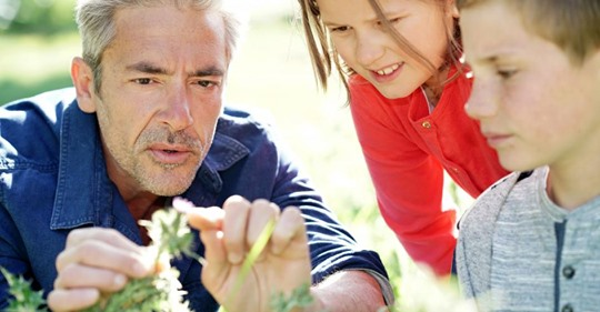 Eltern, zeigt euren Kindern die Natur!
