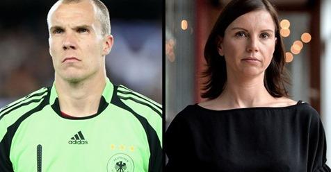 Teresa Enke Ich hoffe, dass Lara und Robbi oben auf einer Wolke sitzen ...