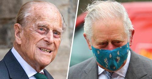 Prinz Charles Emotionaler Besuch bei Prinz Philip im Krankenhaus