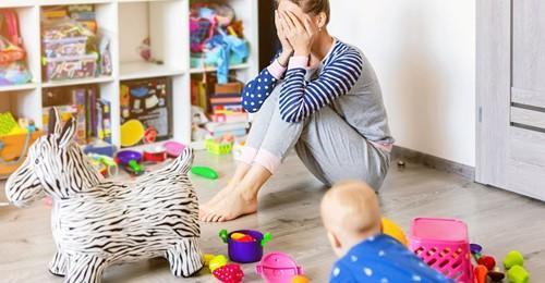 Mütter im Burnout Betroffene erzählt: Jeder Tag wurde zu einem Kraftakt