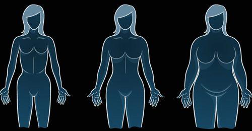 Körperform und Abnehmen: ektomoprh, mesomorph, endomorph