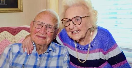 100-jähriger Veteran des Zweiten Weltkriegs heiratet 102-jährige nach einem Jahr Beziehung