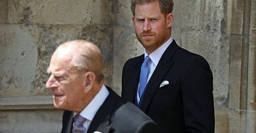 Prinz Harry  Frech bis zum Schluss – sein Abschied von Philip rührt zu Tränen