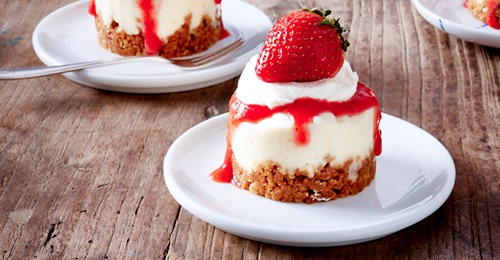 Mini-Erdbeer-Törtchen