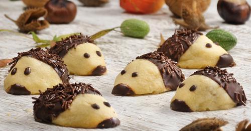 Igel-Kekse selber machen - so geht's